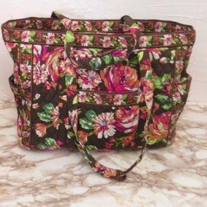 English Rose Get Carried Away Large Tote Bag